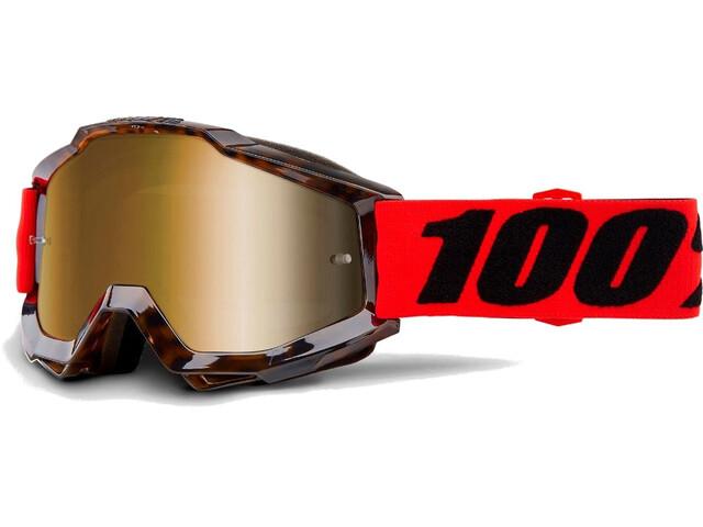 100% Accuri Anti Fog Mirror - Gafas enduro - marrón/rojo